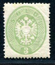 ÖSTERREICH L+V 1863 15 * sehr schöne frische MARKE 1000€(S2609