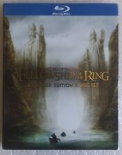 The Lord Of The Rings Fellowship of the Ring extended edition Blu Ray 5 Disc