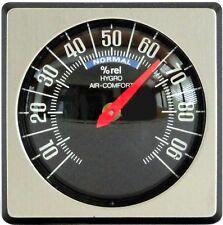 Historisches Bimetall Hygrometer justierbar 45 x 45 mm von Richter HR Art. 12251