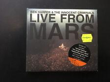Live from Mars by Ben Harper (CD, Mar-2001, 2 Discs, Virgin) Oz Cd Oz Seller