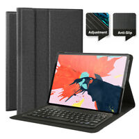 "US For iPad Pro 12.9"" 3rd Gen 2018 Wireless Bluetooth Keyboard With Case Cover"