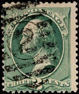 VINTAGE U. S. 1879 Washington 3 Cent Scott # 184 Stamp