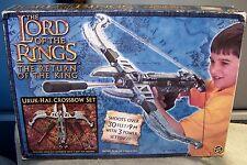 LORD OF THE RINGS 2003 RETURN OF THE KING URUK-HAI CROSSBOW SET LOTR