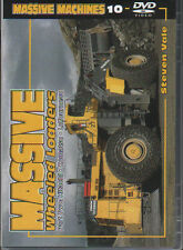 MASSIVE MACHINES VOL10 DVD:MASSIVE WHEELED LOADERS P2 HITACHI KOMATSU LeTOURNEAU