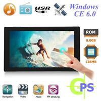"""Portable 9"""" HD Touch Screen Car Sat Nav FM 256MB 8GB GPS Navigation Navi"""