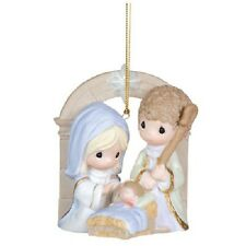 Precious Moments - Unto Us A Child Is Born - Hanging Nativity Ornament #111019