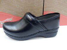 DANSKO WOMENS CLOGS PRO XP CABRIO BLACK SIZE EU 40