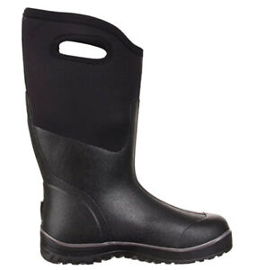 Bogs Men's Classic Ultra High Insulated Waterproof Winter Boots Black 10 No Box