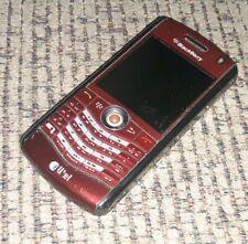 BlackBerry Pearl 8130 - Red (alltel) Smartphone camera cell cellphone telephone