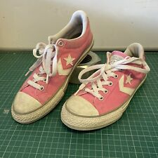LADIES CONVERSE CONS ALL STAR PINK TRAINERS SIZE EUR 35.5 UK 3
