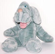 "Ganz VTG Wrinkles the Dog Hand Puppet Large 28"" Stuffed Plush Blood Hound 1981"