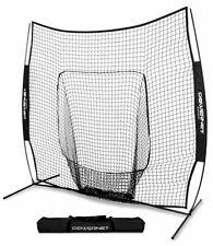 PowerNet 7x7 Baseball/Softball Batting Hitting Net Black 1001BK