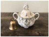 White & Gold Jar - Soup tureen | Tinaja Blanca y Oro