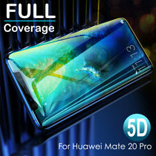 5D Curved Tempered Glass Screen Protector For Huawei Mate 20 Pro [Case Friendly]