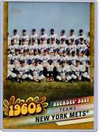 New York Mets 2020 Topps Decades Best 5x7 Gold #DB-30 /10 Mets