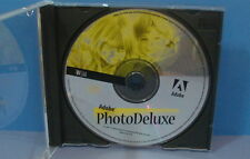 Adobe Photo Deluxe CD ROM Computer Software