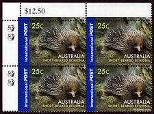 2006 Short Beaked Echidna Value Block 2nd Reprint MUH Mint Stamps Australia #1