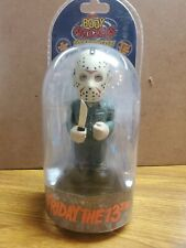 NECA BODY KNOCKERS FRIDAY THE 13TH JASON VOORHEES NEW SOLAR POWERED SEALED