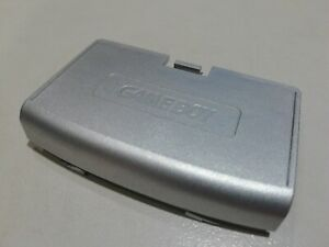 Cache Pile GBA Silver Argent Gris Game boy ADVANCE Nintendo Battery