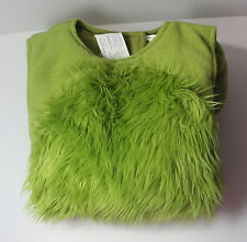 Pottery Barn Kids Size 4-6 Costume Green Monster Halloween Dress Up