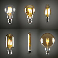 4W/6W Vintage industrial Filament LED E27 Light Bulb Lamp Squirrel Cage Edison