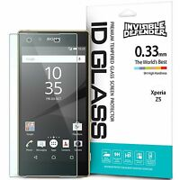 Tempered Glass Screen Protector For Sony Xperia Z5   Ringke Invisible Defender