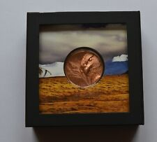 More details for majestic eagle 2020 mongolia 50g proof copper coin