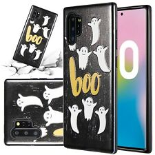 For Samsung Galaxy Note 10 Plus Case Dual Layer Halloween Spooky Phone Cover