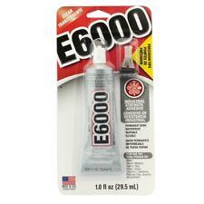 E6000 Clear Permanent Craft Adhesive 1 oz. Glue w/ Precision Tips