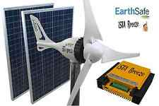 SET i-500 PLUS 24V, WINDGENERATOR + 200W SOLAR + HYBRID LADEREGLER iSTA-BREEZE®