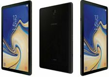 Samsung Galaxy Tab S4 SM-T837V 64GB Verizon 10.5 Black Android Screen Image Burn