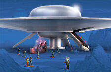 "New Discontinued 1/72 28"" inch Polar Lights C-57D Forbidden Planet Movie UFO"