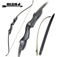 """60"""" Recurve Bow ILF Archery Takedown 30-60lbs Right Hand America Longbow Hunting"""