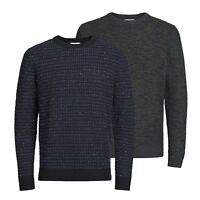 Mens Jumper JACK & JONES Yani Cotton Crew Neck Sweater