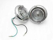 WILLYS CJ3B CJ3 CJ5 FORD JEEP PARKING TURN SIGNAL INDICATOR CLEAR GLASS LIGHT