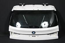 BMW X5 F15 Heckklappe Kofferaumdeckel weiss Oberteil rear lid rear flap white
