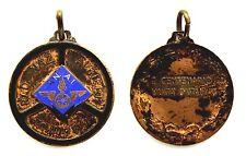 Medaglia Con Smalti A.N.A.I. Raduno Nazionale Autieri 1961 Torino I° Centenario