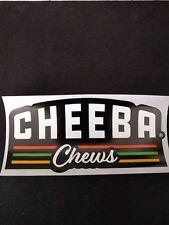 """(3) Marijuana Edible Sticker - Cheeba Chews Logo Decal4"""" x 2"""""""