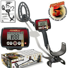 "Fisher F22 Metal Detector with 9"" Concentric Search Coil and 5 Year Warranty"