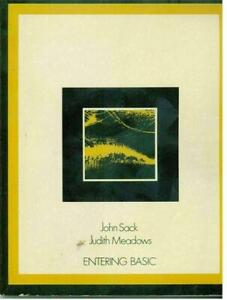 """ITHistory (1973) BOOK: """"Entering Basic Sack/Meadows Science Research/IBM B2 BQ"""