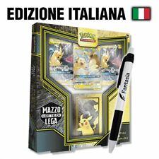 Pikachu e Zekrom GX Alleati - Mazzo Lotte di Lega con Penna Fantasia (ITA)