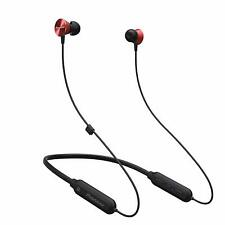 PIONEER QL7 WIRELESS IN-EAR NECKBAND HEADPHONES BLUETOOTH NFC REMOTE RED NEW