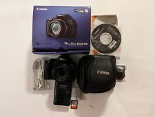 Canon Powershot SX40 HS Digital Camera 12.1 MP Box with Case Extras Working
