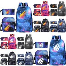 Kids Prestonplayz Backpack Rucksack School Bag+Shoulder Bag+Pencil Case 3Pcs Set