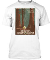 Vintage Travel Sequoia National Park - Ranger Hanes Tagless Tee T-Shirt