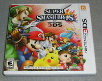 Super Smash Bros. for Nintendo 3DS 100% AUTHENTIC Case Only NO GAME