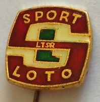 Sport LOTO Pin Badge Rare Vintage Collectable (E4)