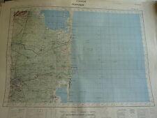 CARTE IGN  1/ 50000 - 1942 à 1957 - feuille PERPIGNAN - CLAIRA - SALCES