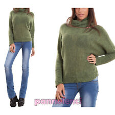 Sweater woman pullover neck warmer scarf sleeves bat 2 pieces CR-2411