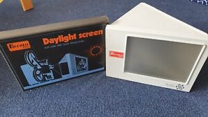 Piccolo Film Daylight Screen Tageslicht Mini Leinwand mit Spiegel Super 8